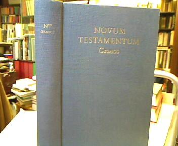 Novum Testamentum Graece. cum apparatu critico curavit Eberhard Nestle novis curis elaboraverunt Erwin Nestle et Kurt Aland. Editio vicesima quinta. 26. Aufl.
