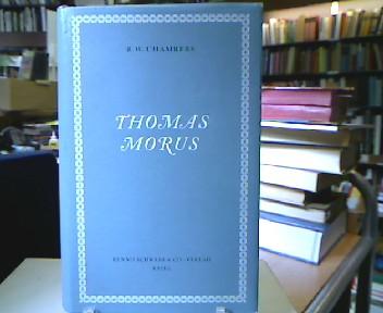 Thomas Morus. Deutsche Übersetzung von J. E. Nenniger.
