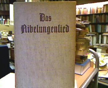 Das Nibelungenlied. In der Übertragung von Karl Simrock. Mit Zeichungen von Eduard Bendemann, Julius Hübner, U. Rethel u. C. Stilke.