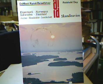 Skandinavien. Dänemark, Norwegen, Schweden, Finnland. Kultur - Geschichte - Landschaft. Von steingewordener Vergangenheit bis zur lebendigen Gegenwart. (= DuMont-Dokumente : DuMont-Kunst-Reiseführer ).