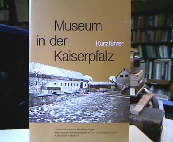 Balzer, Manfred. Die karolingische und die ottonisch-salische Königspfalz in Paderborn. Ein Kurzführer durch das Museum in der Kaiserpfalz.