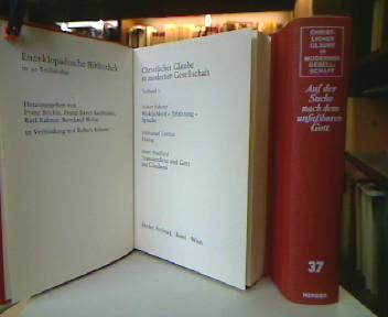 Christlicher Glaube in moderner Gesellschaft. Enzyklopädische Bibliothek in 30 Teilbänden (37 Bücher).