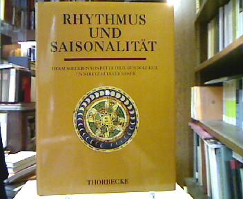 Rhythmus und Saisonalität : Kongreßakten des 5. Symposions des Mediävistenverbandes in Göttingen 1993. (=Symposions des Mediävistenverbandes ; 5).