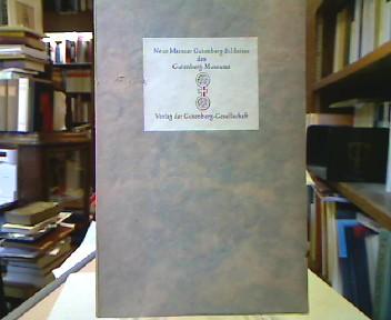 Vier neue Gutenberg-Bildnisse des Gutenberg-Museums.