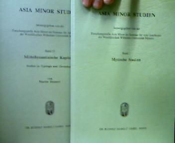 Asia Minor Studien 1-25. Hrsg. von der Forschungsstelle Asia Minor im Seminar für Alte Geschcihte der Westfälischen Wilhelms-Universität Münster 26 Bde.