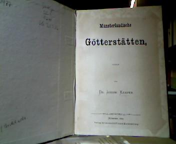 Münsterländische Götterstätten.
