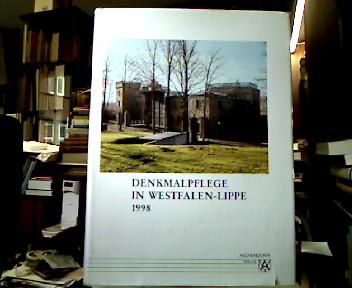 Denkmalpflege in Westfalen-Lippe 1998.