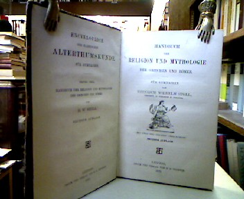 Handbuch der Religion und Mythologie der Griechen und Römer für Gymnasien. (= Encyklopädie der klassischen Alterthumskunde für Gymnasien, Erster Theil). 6. Aufl.