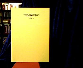 Archiv ostdeutscher Familienforscher. Bd. 19.