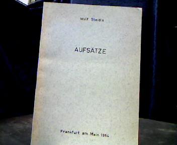 Aufsätze. 14 Aufsätze aus Zeitschriften verschiedener Verlage. 1. Auflage.