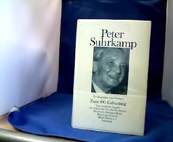Peter Suhrkamp. Zur Biographie eines Verlegers in Daten, Dokumenten und Bildern. 1. Aufl. dieser Ausgabe. Erweiterte Fassung der 1975 ersch. Taschenbuchausgabe.