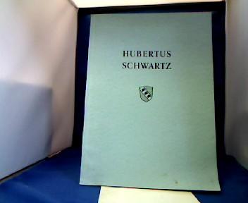Hubertus Schwartz. Eine Darstellung seines Lebens und Wirkens. Sonderabdruck aus der Festschrift der Stadt Soest zum 70. Geburtstag von D.Dr. Schwartz. 1. Auflage.