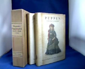 Puppen und Puppenspiele. 2 Bände. Band 1: Puppen. Band 2: Puppenspiele. 1. Auflage.