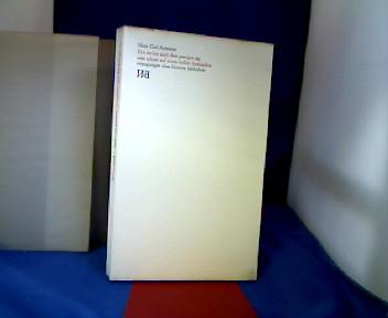 Das suchen nach dem gestrigen tag oder schnee auf einem heißen brotwecken. eintragungen eines bizarren liebhabers. Walter-Druck 1. 1. Auflage, beschänkt auf 1550 Exemplare.