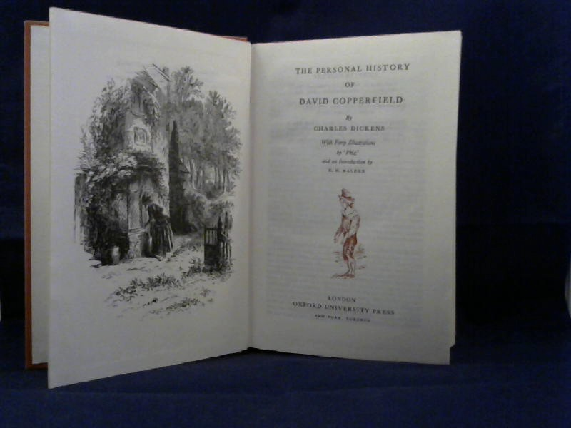 Dickens, Charles. The Personal History of David Copperfield. With Forty Illustrations by 'Phiz' and an Introduction by R.H. Malden.