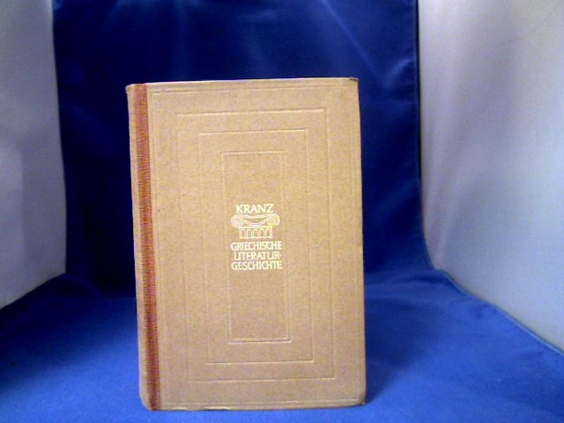 Geschichte der griechischen Literatur. Sammlung Dieterich, Band 42. 2. Auflage.