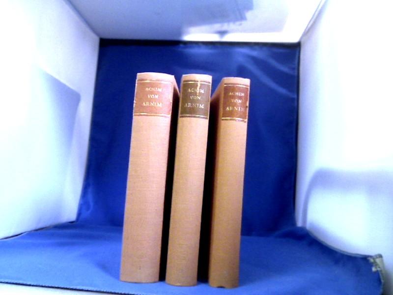 Sämtliche Romane und Erzählungen. 3 Bände. Hrsg. von Walter Migge. 1. Auflage.