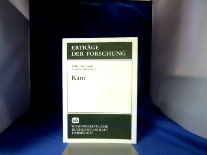 Kant. ; Friedrich Kaulbach 2., unveränd. Aufl.