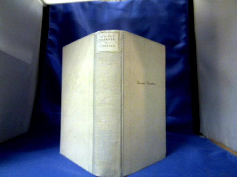 Opuscula. Ein Sammelband. 1. Auflage.