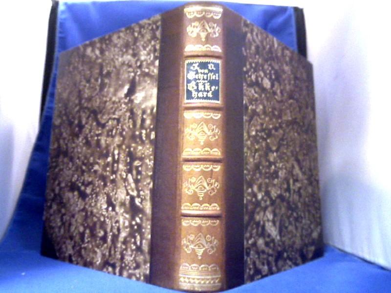 Scheffel, J. Victor von. Ekkehard. Eine Geschichte aus dem zehnten Jahrhundert. Mit Steinzeichnungen von Walter Klemm. 1. Auflage dieser Ausgabe.