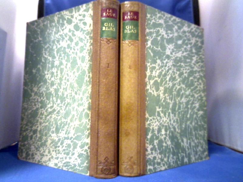 Le Sage. Geschichte des Gil Blas von Santillana. Deutsche Übertragung von D. Barrasch. Mit Holzschnitten nach Jean Gigoux. 1. Auflage dieser Ausgabe.