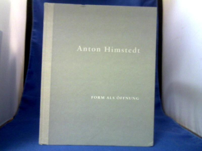 Anton Himstedt : Skulpturen und Zeichungen 1985 - 1993 ; [Staatliches Museum Schwerin, 29. Februar - 14. April 1996]; Form als Öffnung : ein Gespräch. 1. Auflage.