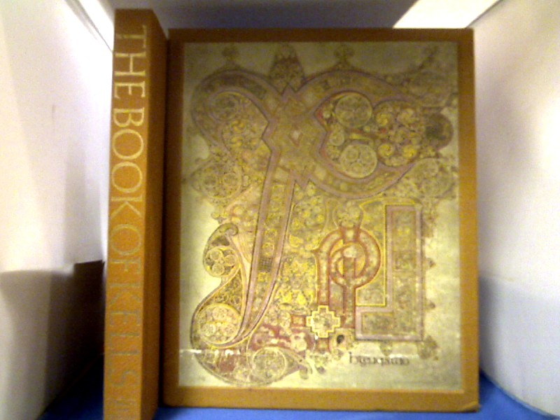 The Book of Kells. Reproductions from the Manuscript in Trinity College Dublin. With a Study of the Manuscript by Francoise Henry. Reprint der 1. Auflage von 1974.