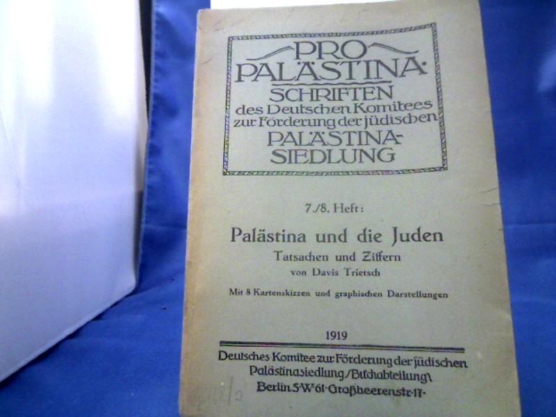 Palästina und die Juden. Tatasachen und Ziffern. (= Pro Palästina. Schriften des Deutschen Komitees zur Förderung der jüdischen Palästina- Siedlungen 7./8. Heft.