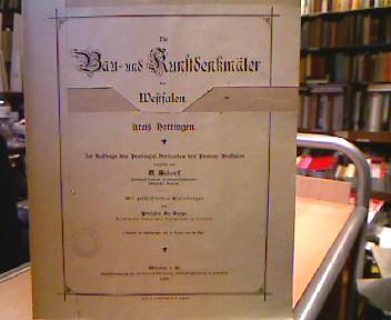 Hattingen - Bau- und Kunstdenkmäler von Westfalen Bd. 29 Hattingen