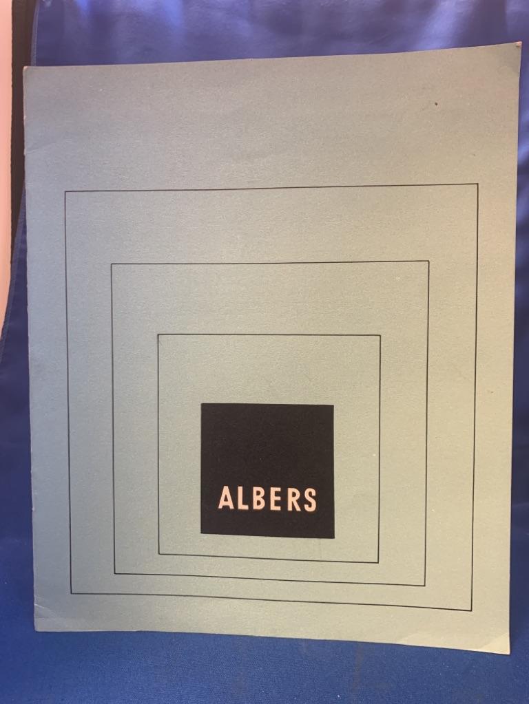 Josef Albers Galerie Denise René, Paris octobre - novembre 1957