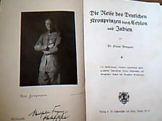 Die Reise des deutschen Kronrinzen durch Ceylon und Indien