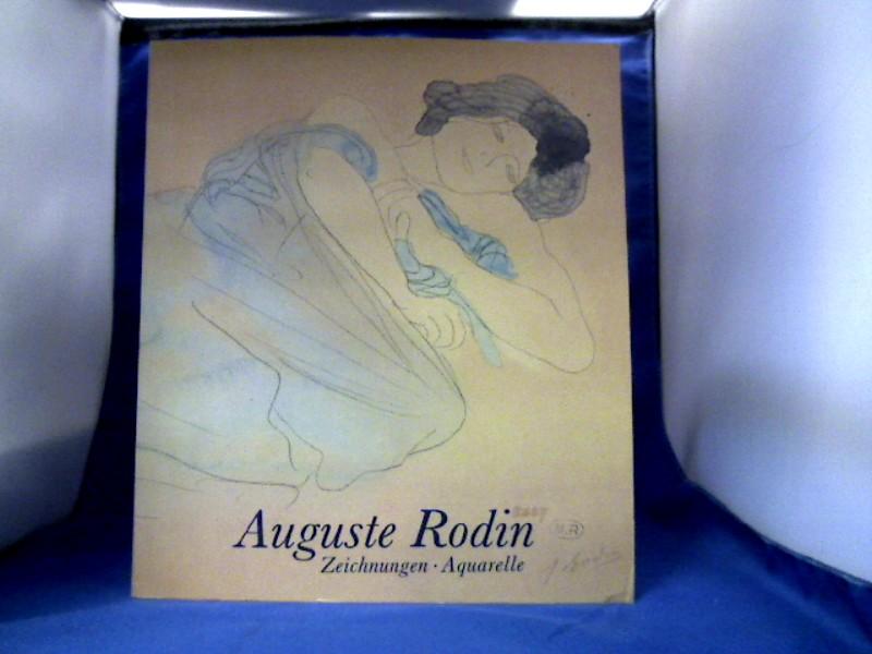 Rodin - Güse, Ernst- Gerhard Hg. Auguste Rodin. Zeichnungen Aquarelle AK Westf. Landesmuseum 1984-1985