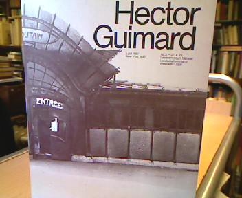 Hector Guimard. AK Landesmuseum Münster 16.3. - 27. 4. 1975 1. Aufl.