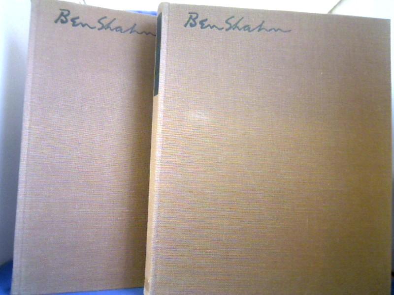 Ben-Shahn, 2 Bände: Bd. 1 Graphik. Bd. 2 Malerei. Einleitung James Thrall Soby. Vorwort Werner Haftmann.