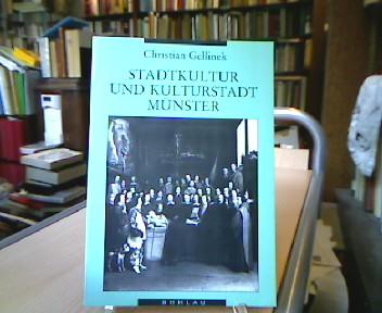 Stadtkultur und Kulturstadt Münster.