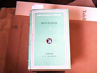 The Principal Fragments. With an English Translation by Francis G. Allison. (The Loeb Classical Library 132).