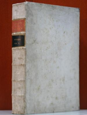 Acta Sanctorum. Ex Latinis et Graecis aliarumque gentium Monumentis, servata primigenia veterum Scriptorum phrasi. Acta sanctorum. Octobris tomus quartus, quo dies octavus et nonus continentur.