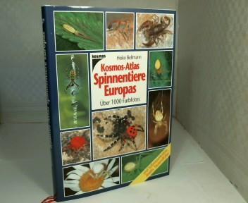 Kosmos-Atlas Spinnentiere Europas und Süßwasserkrebse, Asseln, Tausendfüßler.