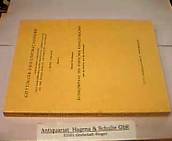 Konkordanz des syrischen Koheletbuches nach der Peshitta und Syrohexapla. (= Göttinger Orientforschungen. Reihe 1: Syriaca - Band 4). - Strothmann, Werner