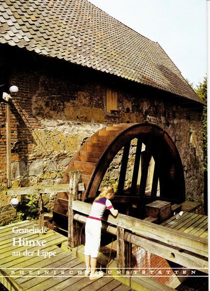 Gemeinde Hünxe an der Lippe.