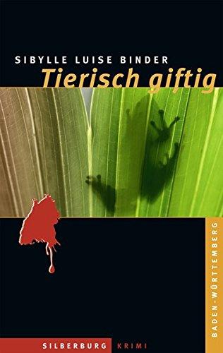 1) Sibylle Luise Binder: Tierisch giftig. 2) Jürgen Seibold: Lindner und das Keltengrab. Zusammen 2 Bücher. Baden-Württemberg-Krimis. 1. Auflage. - Binder, Sibylle Luise und Jürgen Seibold