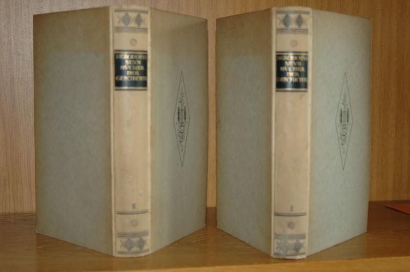 Neun Bücher der Geschichte. Nach der Übersetzung von Goldhagen vollständig herausgegeben. 2 Bände.