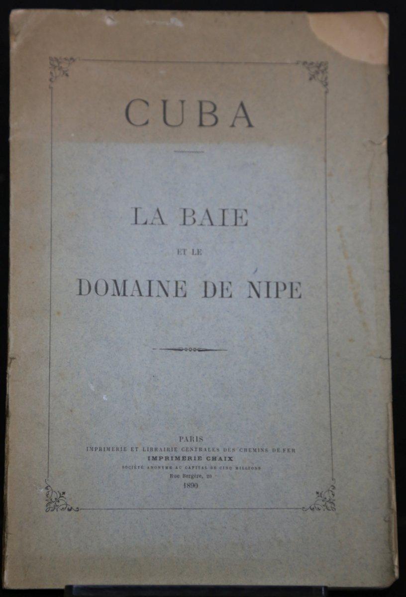 Cuba. La Baie et le Domaine de Nipe. Anonym: