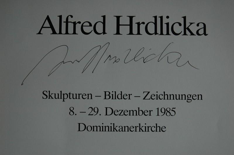 Alfred Hrdlicka. Skulpturen - Bilder - Zeichnungen, 8. - 29. Dezember 1985, Dominikanerkirche Museums- und Kunstverein Osnabrück e.V.