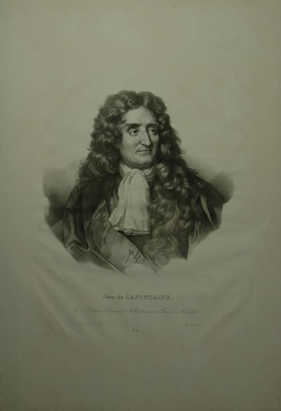 Portrait. Brustfigur. Lithographie von Henri Grevedon.