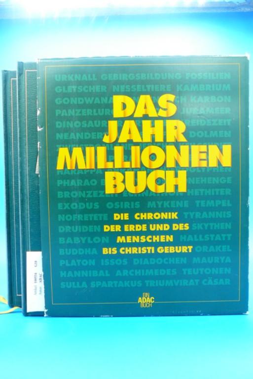 ADAC. Das Jahr Millionen Buch  ( 2 Bände ). Die Chronik der Erde und des Menschen bis Christi Geburt.