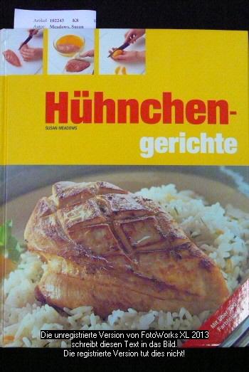 Hühnchengerichte.