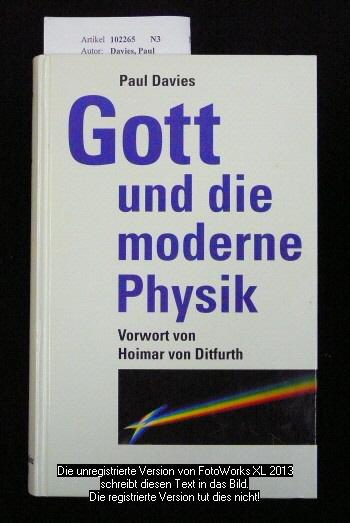 Gott und die moderne Physik.
