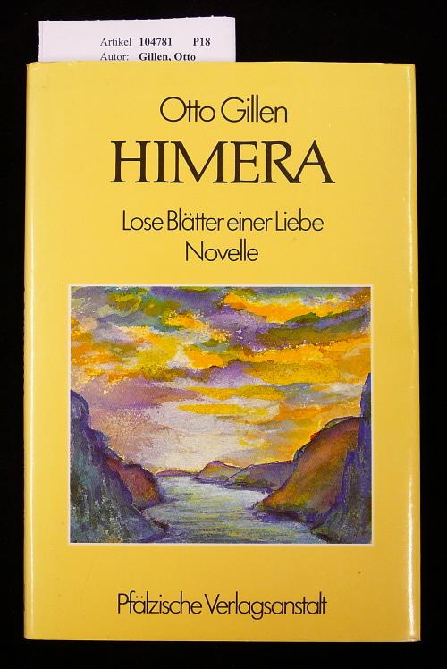 Himera. Lose Blätter einer Liebe - Novelle - mit 30 Kohlezeichnungen von Ludwig Wagner. o.A.