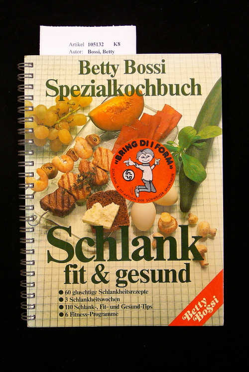 Spezialkochbuch Schlank fit & gesund. o.A.